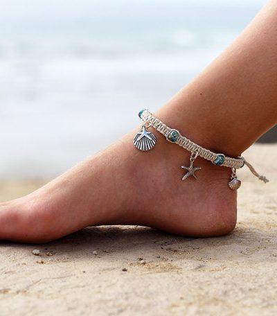 Hemp Beach Anklet, Made To Order
