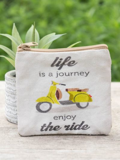 Coin Purse, Life is A Journey