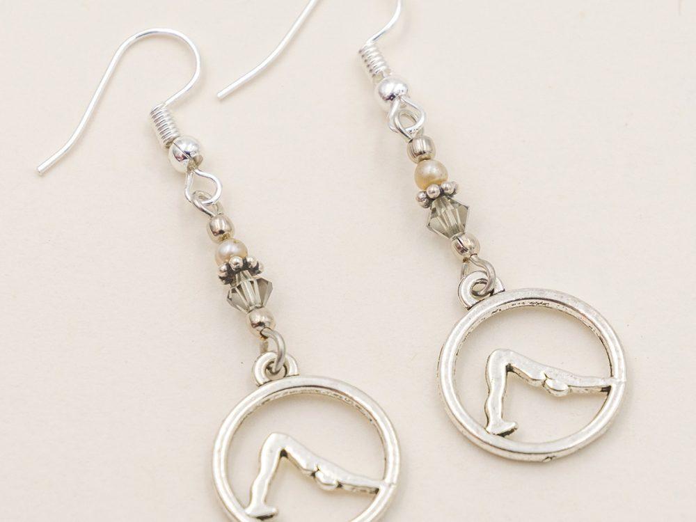 yoga earrings