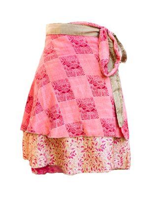 silk sari wrap skirts, beach sarongs