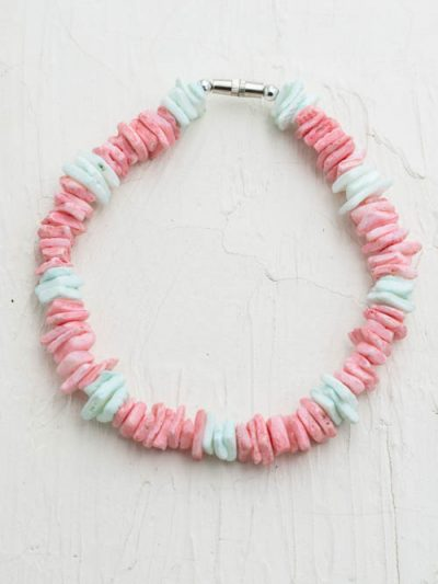 shell chip anklet, girls jewelry